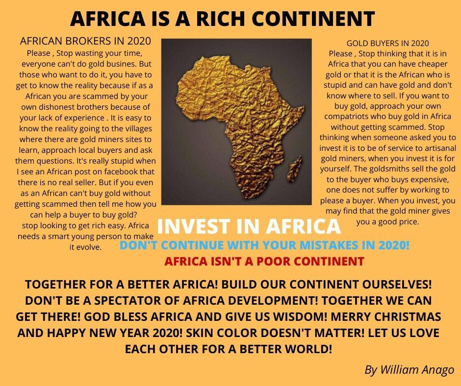 AFRICA IS NOT A POOR CONTINENT 1
